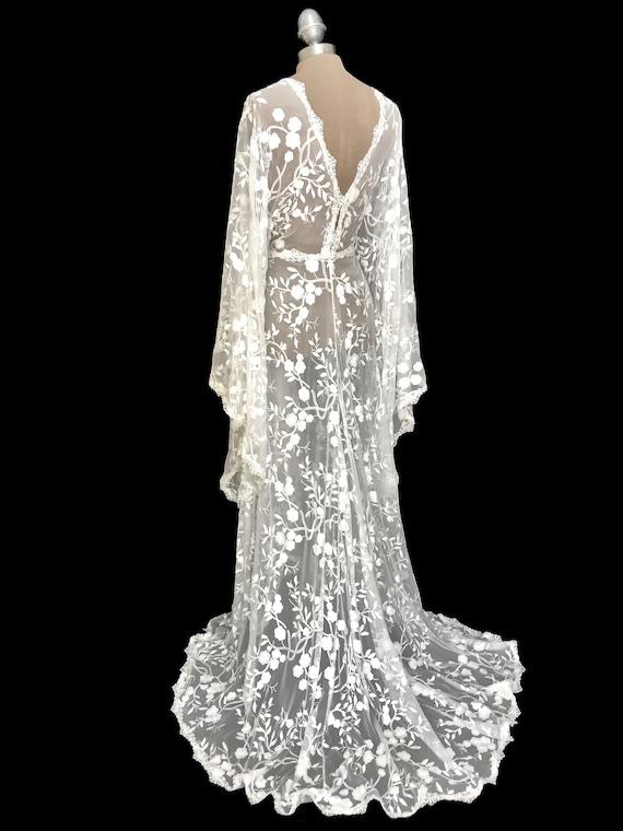Boho Wedding Dress Lace Wedding Dress Wedding Dresses Boho Etsy