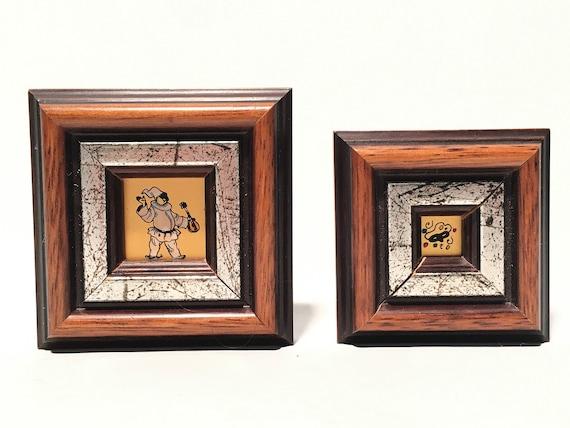 24K Gold Miniature Gold Italian Harlequin & Harleq