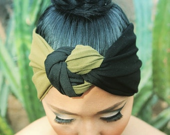 Army Knot Turban Headband