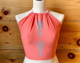 Pink Palma Halter