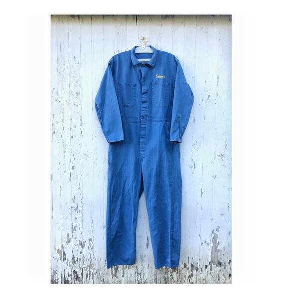 Vintage Coveralls Mechanic Jumpsuit Workwear Herri