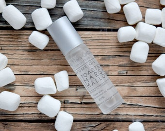 Toasted Marshmallow Perfume Oil, Roll on Perfume, Roller Ball perfume, Scented Oil, handmade perfume, Gift for Friend