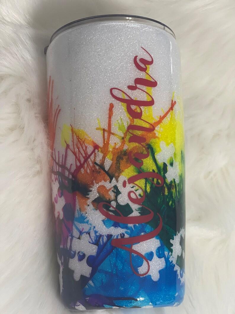 Custom Alcohol Ink Tumblers Custom Epoxy Tumblers