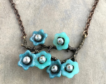 Blooming Branches Necklace
