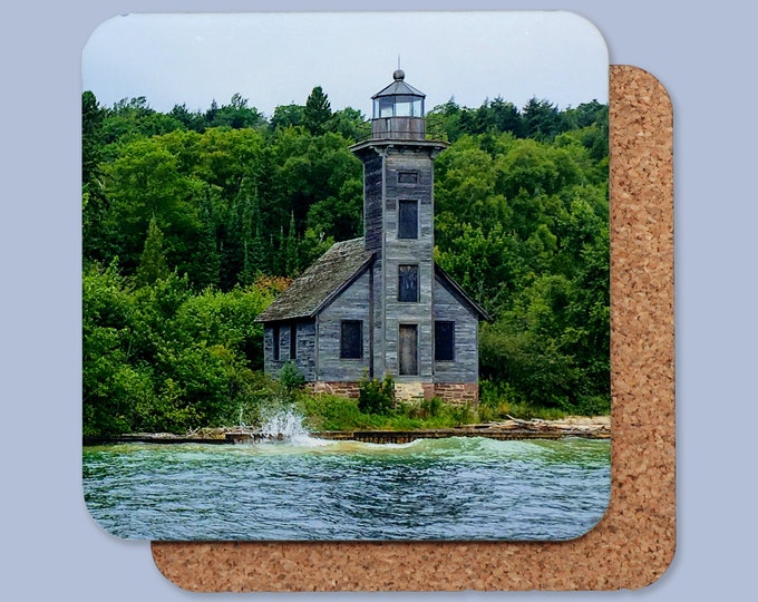 Michigan Lighthouse Coasters - Individual or Set of 4