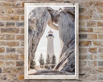 Crisp Point Lighthouse Michigan Photography
