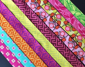 Patty Young Modkid woven jacquard embroidered ribbon trim 22mm 7/8 inch wide free domestic shipping