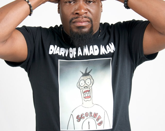 T-Shirt - Diary of a Mad Man by Cousin Lawrence