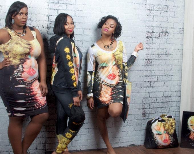 Dress - JAZEAZ® - Long Sleeve Dress 55