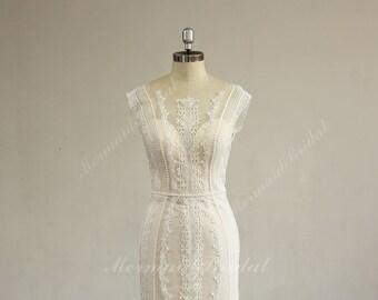 Blush wedding dress | Etsy