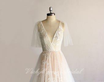 Affordable high quality custom wedding dress by vickymermaidbridal items junglespirit Choice Image