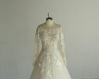 Wedding Dress Champagne