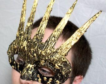 Sun Goddess Masquerade Mask