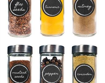 Spice Labels - Gourmet Spice Labels - Spice Jar Labels - Herb Labels - (30 count)