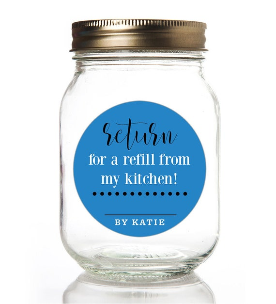 Canning Labels -Jam Jar Labels -Homemade Labels -Custom Stickers -Mason Jar Labels -Kitchen Labels - Personalized From The Kitchen Of Labels
