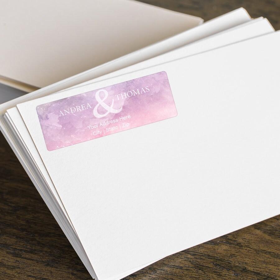 Personalized return address labels custom shipping labels return address stickers wedding address labels