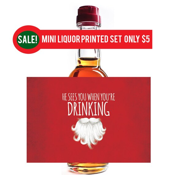 custom liquor mini bottle christmas mini liquor mini liquor