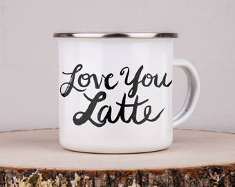 Camping Mug - Campfire Mug - Vintage Mug -Custom Mug - Coffee Mug -Coffee Cup -Customized Mug - Camping Gift -Personalized Gift - Love You