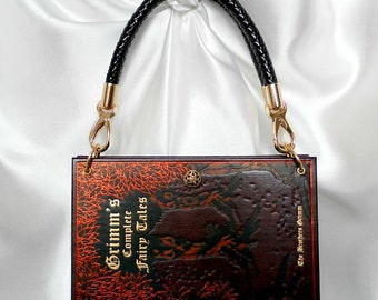 0bc26bc720 Book Handbag The Brothers Grimm - Fairy Tale Handbag - Book Cover Bag UK -  Story Book Handbag