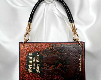 Book Handbag The Brothers Grimm - Fairy Tale Handbag - Book Cover Bag UK - Story Book Handbag