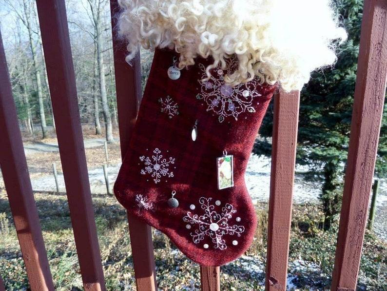 Made to order Custom Christmas Stocking