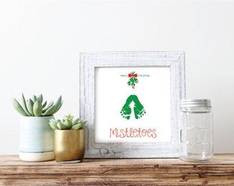 "Mistletoes //  Printable Art // Home Decor //  8""x10"""