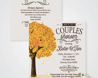 Fall in Love // Couples Shower Invitation