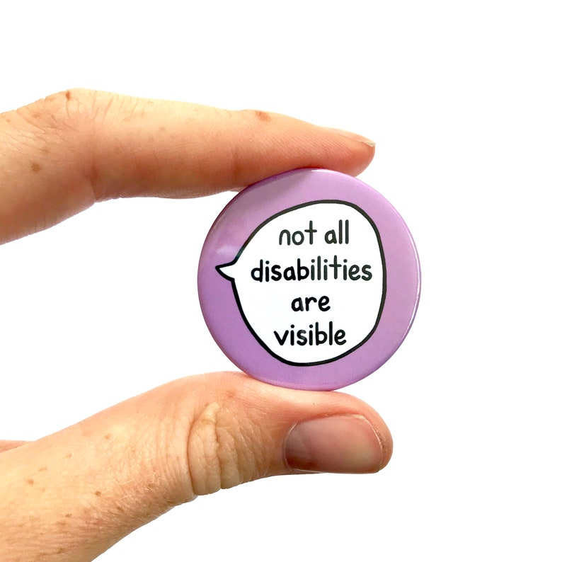 not all disabilities are visible - 794×794
