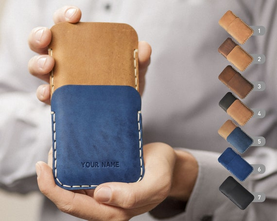 Leather Case for Motorola, Hand Sitched Pouch, FREE Personalization