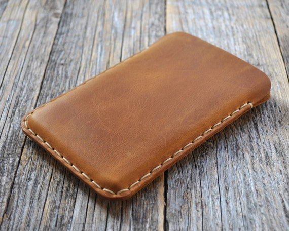 Leather Case for Microsoft Surface Duo, Handmade Cover Sleeve, Custom Size, Free Personalisation
