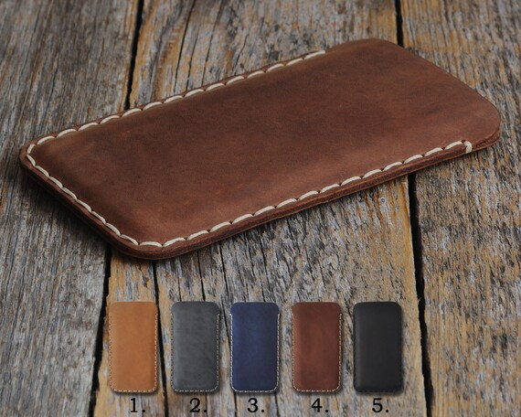 Nokia 1 7 2 8 6 5 3 Siricco 3.1 7.1 5.1 6.1 2.1 Plus (2018) Case Pouch. Handmade Cover Leather Shell Sleeve Rough Vintage Style Custom Sizes