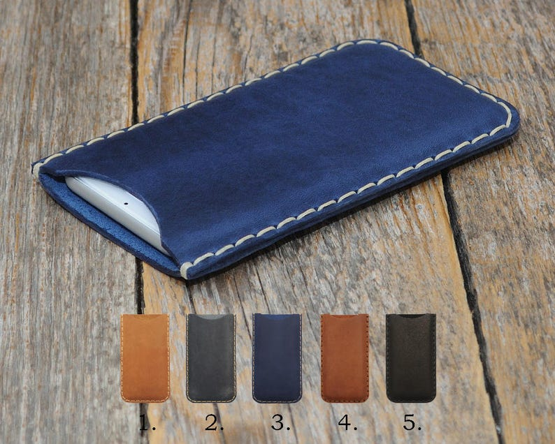 official photos 2e733 b4b99 Essential Phone Leather Case Cover Simple Sleeve