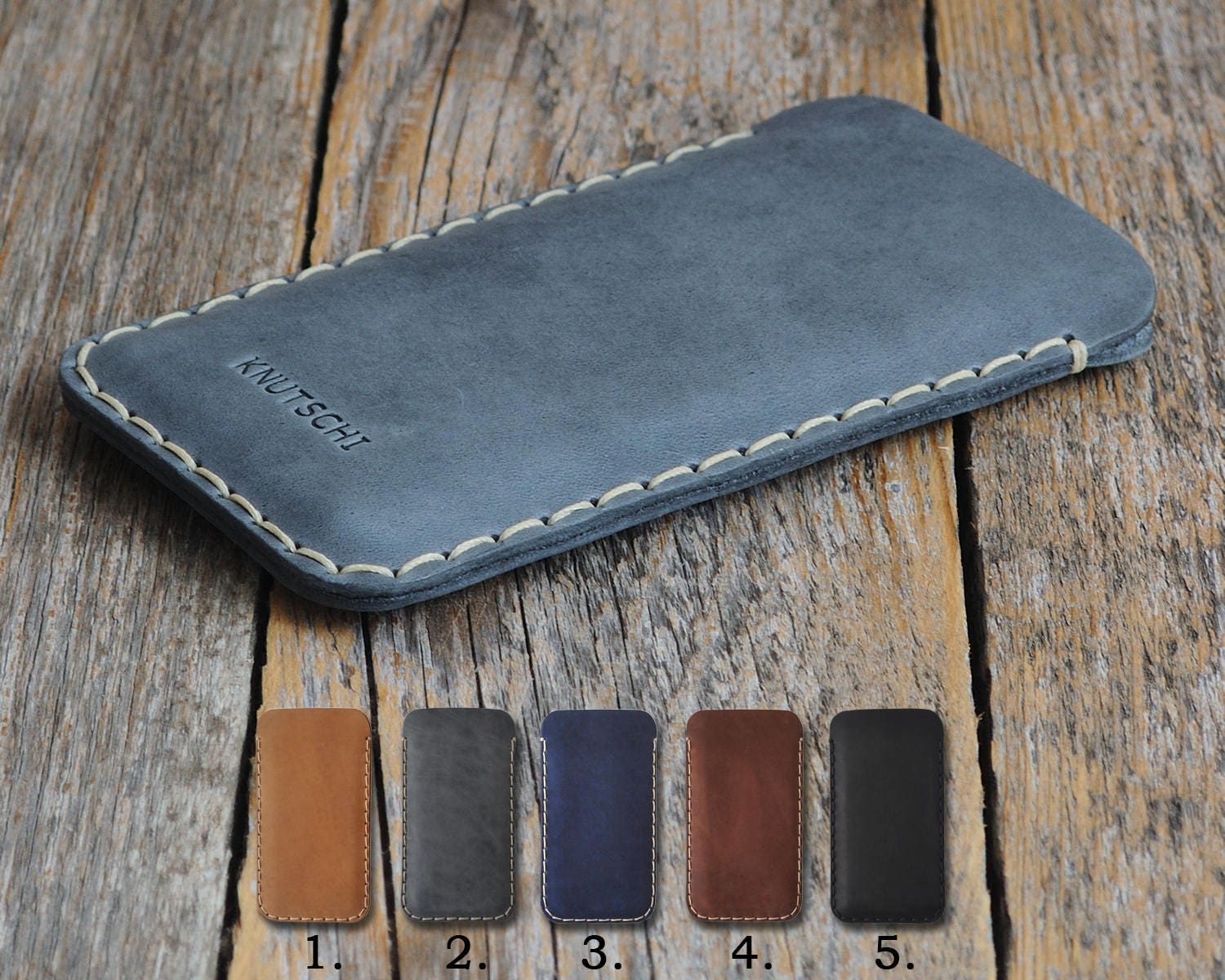on sale 7baaa 97721 Essential Phone Leather Case PERSONALIZED Your Name Cover ...