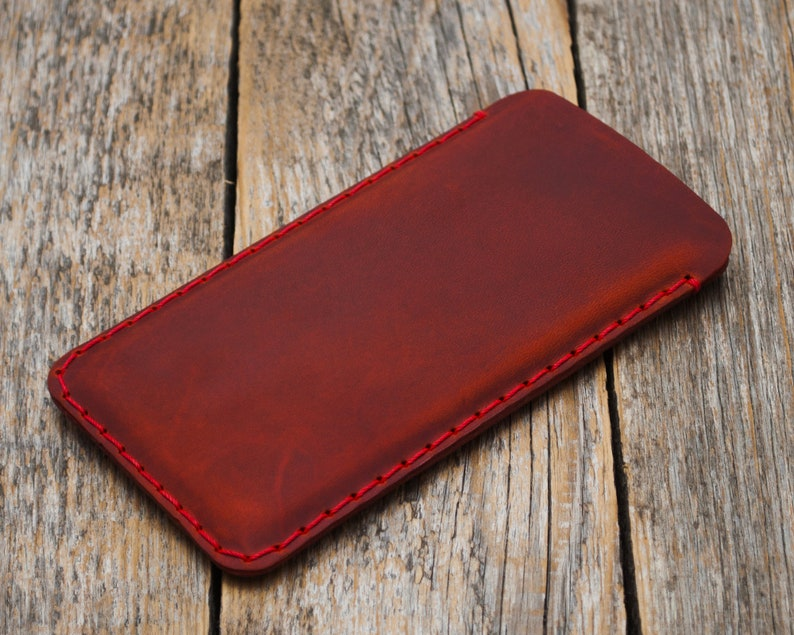 Sleeve Cover Personalised Custom Any Size Leather Case for LG