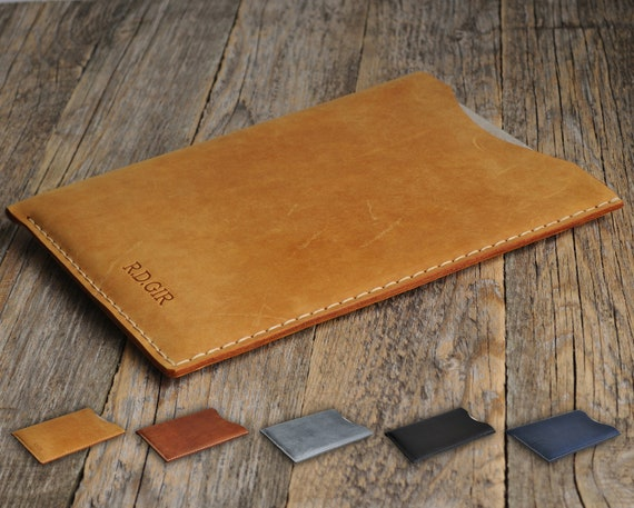 Case for reMarkable Paper Tablet, Cover PERSONALIZED Leather Sleeve. Handstitched.