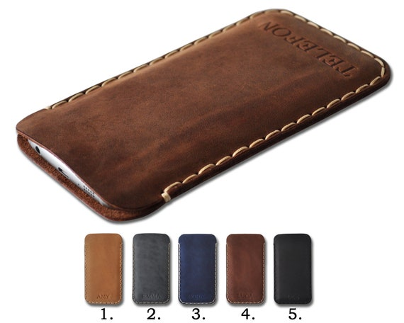 Personalised Cover for Fairphone 3 2, Leather Case Sleeve, Rough Style Pouch Shell, Customizable, Optimally Sized for Any Phone