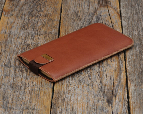 Brown Italian Leather Case for Xiaomi Mi Mix 2s Redmi 5 Cover A2 Lite 8 SE. Lined Cover Sleeve with Magnetic. Genuine protective Pouch.