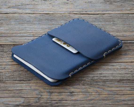 Case for Microsoft Surface Duo, Handmade Leather Cover, Sleeve with Card Pocket, Free Personalization