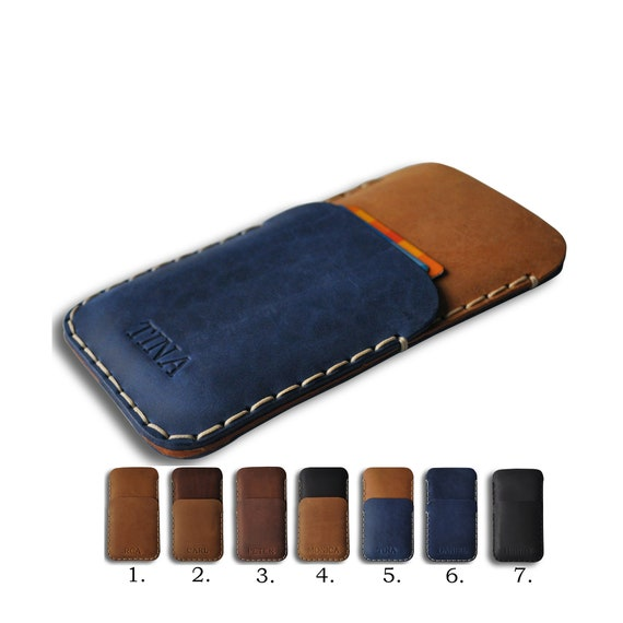 Leather Case for OnePlus, Nord 8 UW Pro 7T 7  6T 6 5T Pouch, FREE Personalization, Rough Style Cover, Wallet Sleeve, Custom Any Size