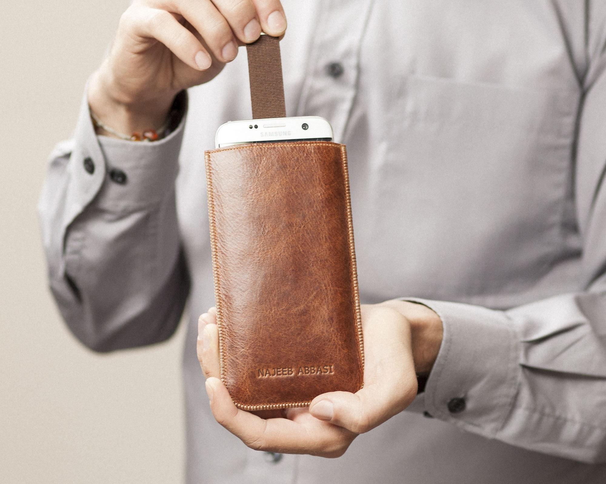 Desire 12 Plus U11 EYEs Handmade Sleeve for HTC Wildfire X U12 Life U12 Personalized Brown Italian Leather Cover Sleeve Magnetic Flap