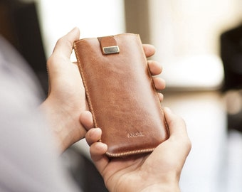 Italian Leather Case for LG, FREE Personalization