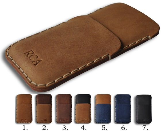 Personalised Leather Cover for Huawei, Case Wallet Sleeve, Pouch with Pocket, Custom Any Sizes