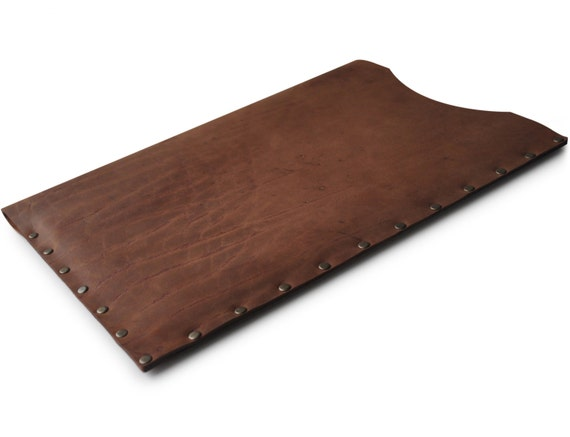 Rough Leather Case for Macbook, Scratchy Rugged Laptop Bag, Free Personalization