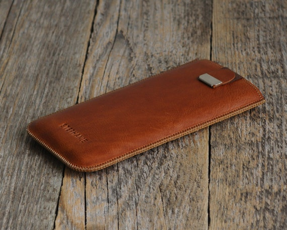 Brown Italian Leather Case for Xiaomi Redmi Note 7 6 5 Pro Mi 8 Mix 2 Pocophone F1 Cover. Engrave Your Name. Personalised Text Initials