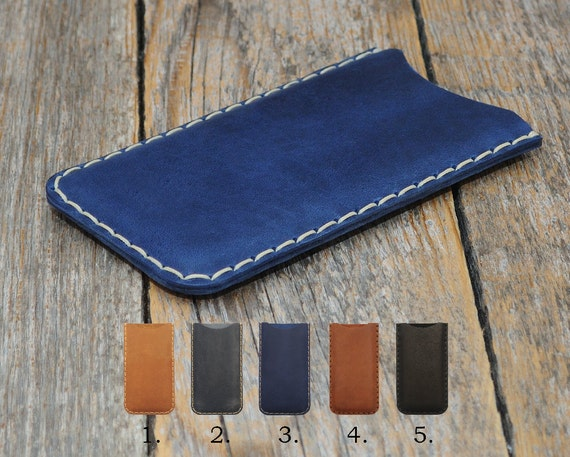 Handmade Cover for OnePlus 7T 7 Pro 5G 6T 6 5T Case Pouch. Genuine Real Cow Leather Shell Sleeve Rough Vintage Style Custom Sizes