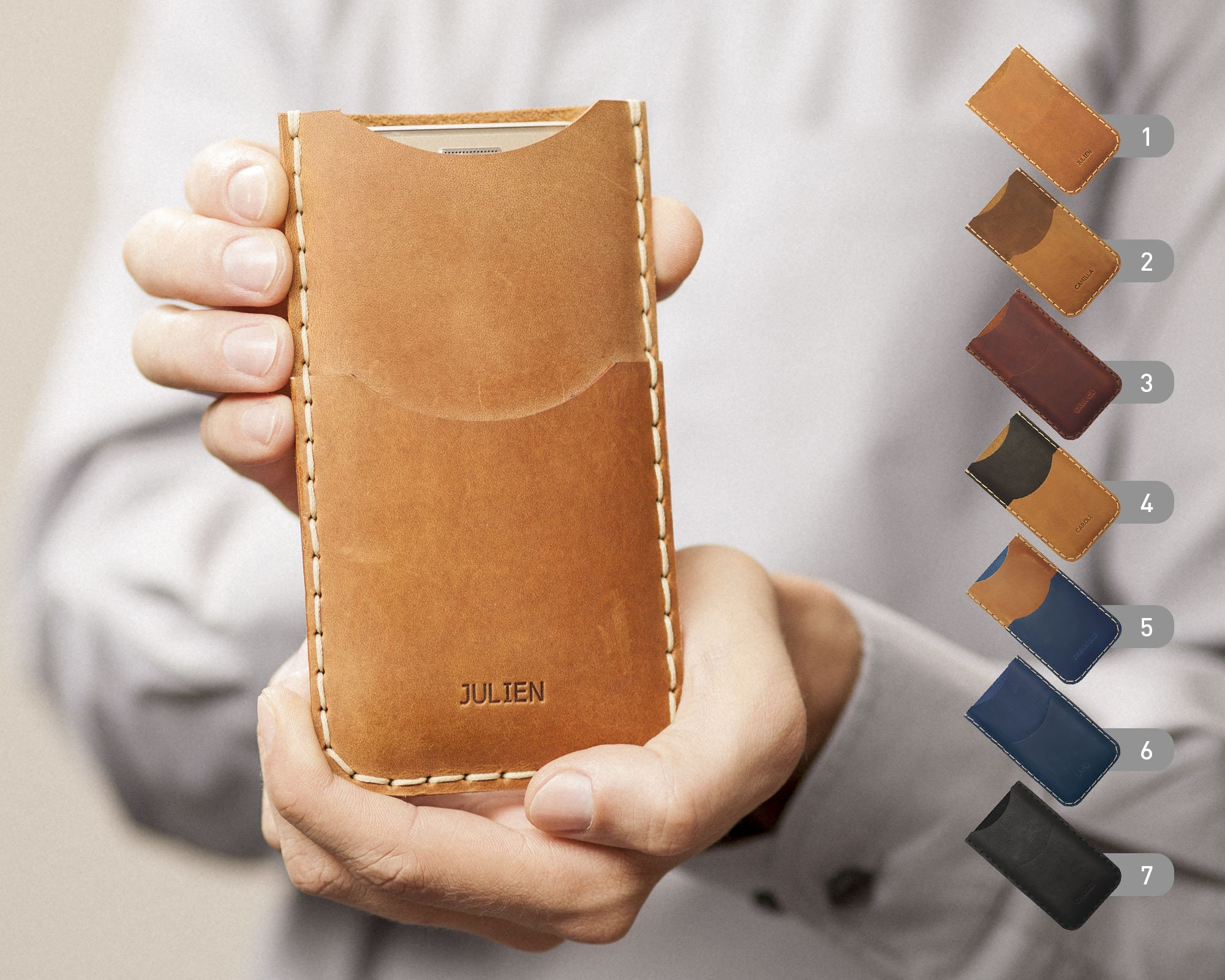 b78e55e3b HAPPER STUDIO leather covers, custom cases, personalized wallets and sleeves