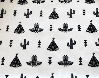 Fabric coupon cacti and pee 50 x 70 cm