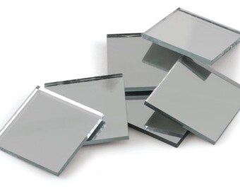 Small Square Mirrors Etsy - 5x5 mirror tiles