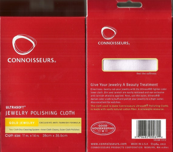 10X New Polishing Cloth Jewelry Silver Gold Platinum Cleaner Anti-tarnish Well