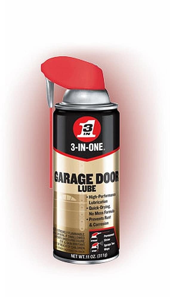 3 In One Garage Door Spray Lube Aerosol Spray Oil Lubricant Etsy